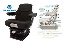 Grammer 12v Air Suspension Seat For John Deere Excavator Crawler Dozer