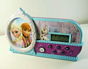 Disney-Frozen-Night-Glow-034-Let-It-Go-034-Alarm-Clock-Elsa-Anna-amp-Olaf-Light-Up