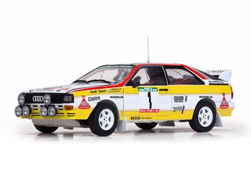 SUNSTAR 4242 4245I QUATTRO A2 Modèle Rallye voitures EKLAND Mikkola Hertz 1 18th