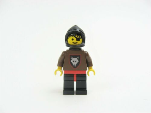 Vintage LEGO Wolfpack 2 Minifigure w//Brown Arms Black Hood Plastic Cape 6038 75