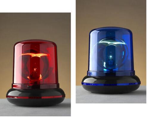 Dekoration Motto Dekolampe Dekoleuchte Polizeilicht blinkende Party Disco Lampe