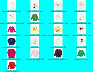 NWT-Gymboree-Girls-Long-Sleeve-Top-Tee-Shirt-NEW-Fall-Winter-Holiday