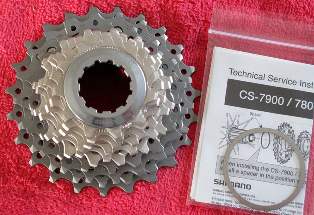 Shimano Dura-Ace CS-7900 10 Speed Road Bike Cassette 11 23, 11-23