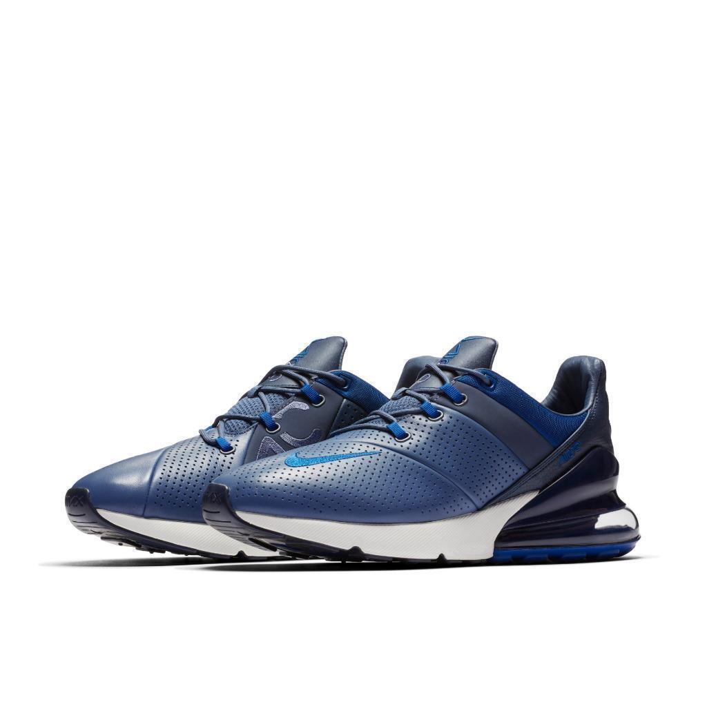 Nike Air Max 270 Premium Sz 12 Diffused bluee Gym bluee-White  AO8283-400 No-Lid