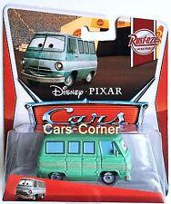 Disney Pixar Cars Dusty Rust - Eze vom Rust - Eze Team - Modell 2012 - NEU & OVP