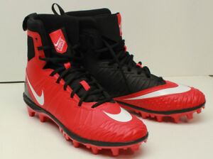 5ae16f10c5e NEW Nike Men s Force Savage Varsity High Top Football Cleats Size 10 ...