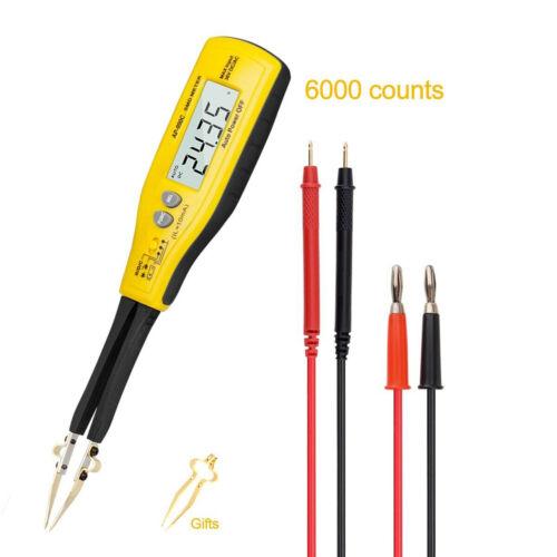 Digital Smart Tweezers Clamp SMD Tester Resistance Capacitance Diode Meter Mini
