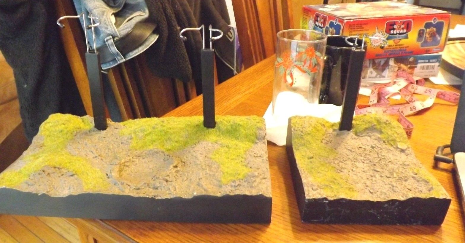 Sideshow Mud Grass Base 1 6 Scale 2-Figure Display 2003