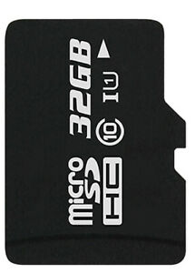 32 GB MicroSDHC Class 10 UHS 1 Speicherkarte für Samsung Galaxy A9 (2018)