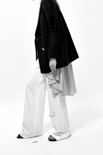 à boutonnage Zara Black femmes manches Veste à longues Tailles double pour Disponibles CtCq5wr