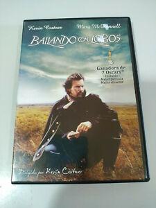 Bailando con Lobos Kevin Costner - DVD Region All