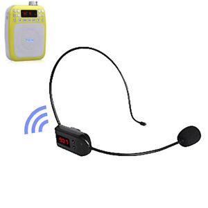 FM-Wireless-Microphone-Headset-Megaphone-Radio-Mic-Loudspeaker