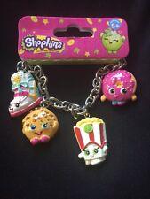 Shopkins Bracelet / Sneaky Wedge, Kooky Cookie, Poppy Corn D-lish & Dough-nut