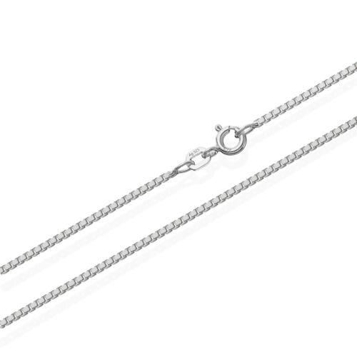 echte 925er Sterlingsilber Venezianerkette Silberkette 90cm 0,90mm 4,6gr 5976