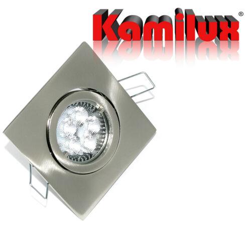 Rostfreie 230Volt Bad Einbauleuchten Downlights Quajo Lochmaß 68mm Fassung GU10