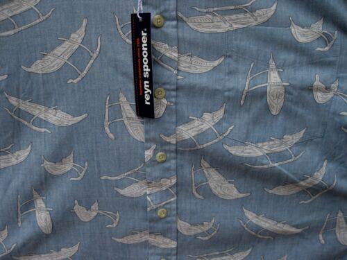 Wa 100 Asiatique Usa Reyn Oapelu Modern Medium Taille Nouveau L Coton Spooner Fit wBzqqC0