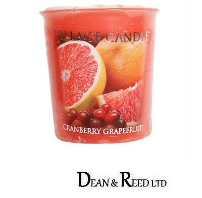VILLAGE CANDLE SCENTED VOTIVE 5 cm CANDLES - CHOICE OF FULL RANGE OF FRAGRANCES