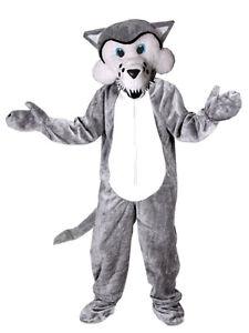 Wolf Kostum Einheitsgrosse Xxl Fell Fasching Faschingskostum