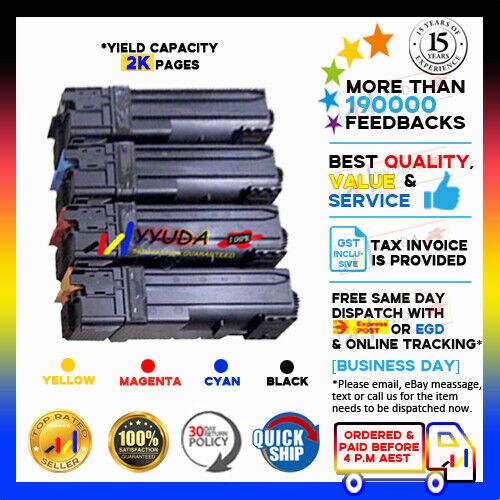 5x NoN-OEM C1110 Toner Colour Cartridge for Fuji Xerox DocuPrint C1110 C1110B