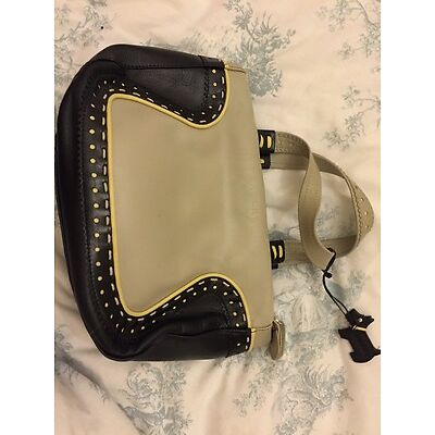 Radley Grey Black Yellow Medium Ladies Handbag With Dustbag