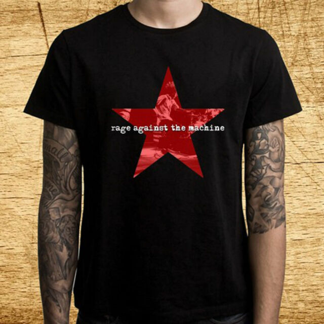 American rock band RAGE AGAINST THE MACHINE T-shirt sizes S to 6XL