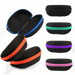 Portable-Zipper-Sunglasses-Hard-Eye-Glasses-Case-Eyewear-Protector-Box-VV