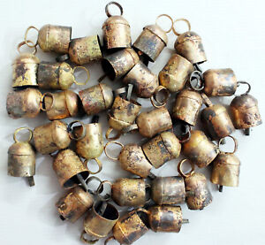 Details about Home Decor Vintage Tin Metal Bells Handmade Decorative X Mas  Wholesale 10 Pcs