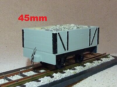 """wood Planked"" Sm45 16mm/foot 1/19th Scale Narrow Gauge Garden Railway 45mm Rtr Dolcezza Gradevole"