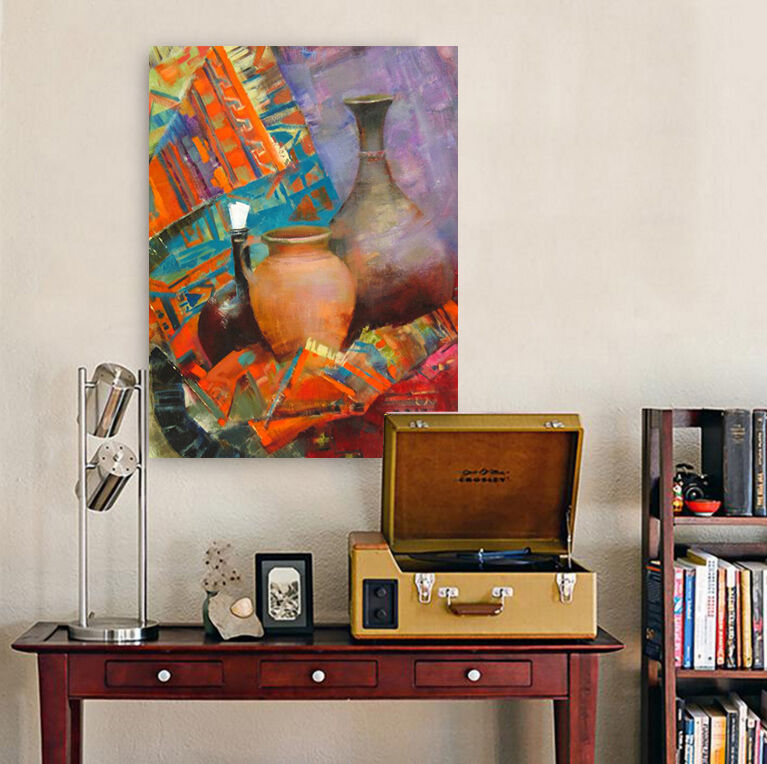 3D Die vase farbe 475 Fototapeten Wandbild BildTapete Familie AJSTORE DE Lemon