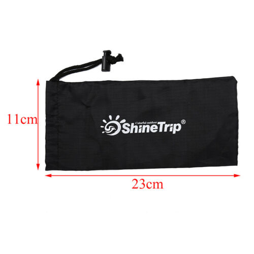 23cm tent pegs bag camping tent hammer wind rope tent nail storage pouch JT