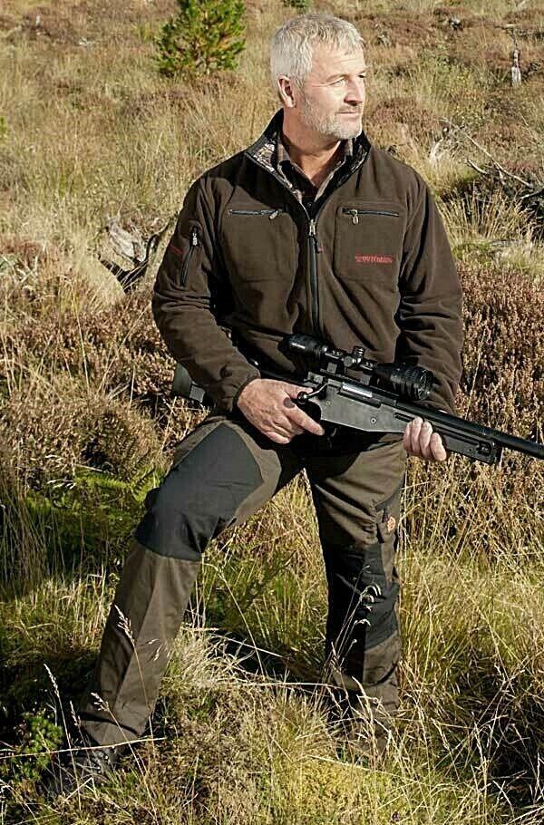 Shooterking-caza pantalones con elástico  cordura-dos Colors  sin mínimo
