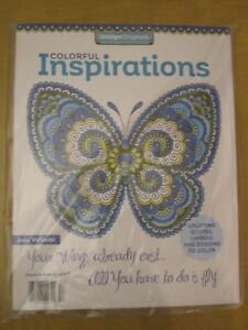 Details about (2) ART ACTIVITY MAGAZINES CREATIVE COLORING MANDALAS AND  COLORFUL INSPIRATIONS