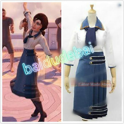 Bioshock Infinite Elizabeth Cosplay Costume Any Size