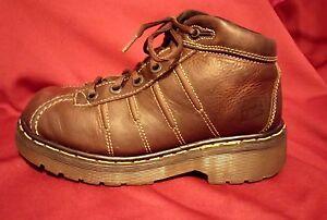 Womens-Vintage-Dr-Doc-Marten-Airwair-Leather-Oxford-Shoes-Sz-5