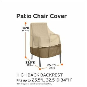 high back chair covers ebay