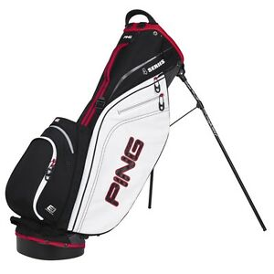 New-2013-Ping-Golf-4-Series-Carry-Stand-Bag-Black-White-Red