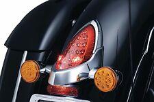 Kuryakyn Chrome Indian Taillight Rear Tail Lamp Top Trim Accent Roadmaster 7697