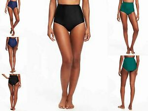bc6c6d26f5 NWT Old Navy Retro Women High Waist Bikini Bottom Swimwear Swim ...