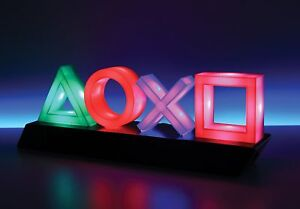 Details about PlayStation Icons Lights LAMP Ps4 Psn Gift for Gamer Students  Home Decoration