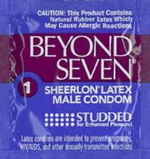 12 Okamoto Beyond Seven Studded Condoms