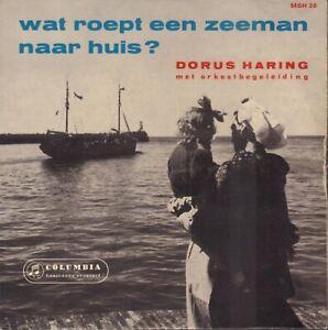 DORUS-HARING-Wat-Roept-Een-Zeeman-Naar-Huis-1958-VINYL-EP-7-034