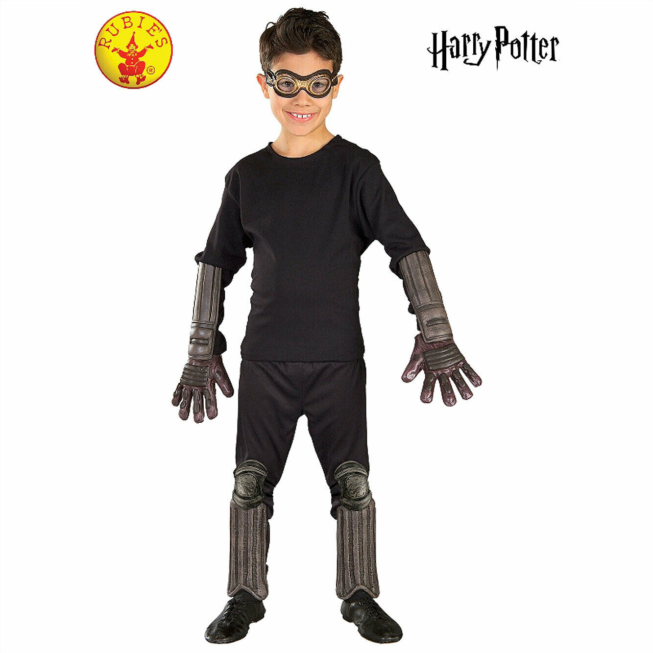 Harry Potter Costume Deluxe Accessory Kit Quidditch Boys Book Week Halloween
