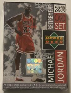 1999-Upper-Deck-Michael-Jordan-Last-Dance-Retirement-23-Card-Factory-Sealed-Set