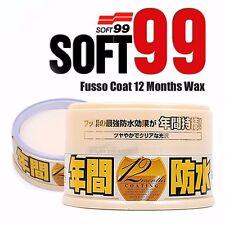 Soft99 Fusso 12 months Auto Care Waterproof Coat Detailing Japan Wax Light Color