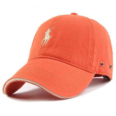 New Unisex Men Womens Golf Casual Sun Cotton Outdoor Hat Adjustable Baseball Cap