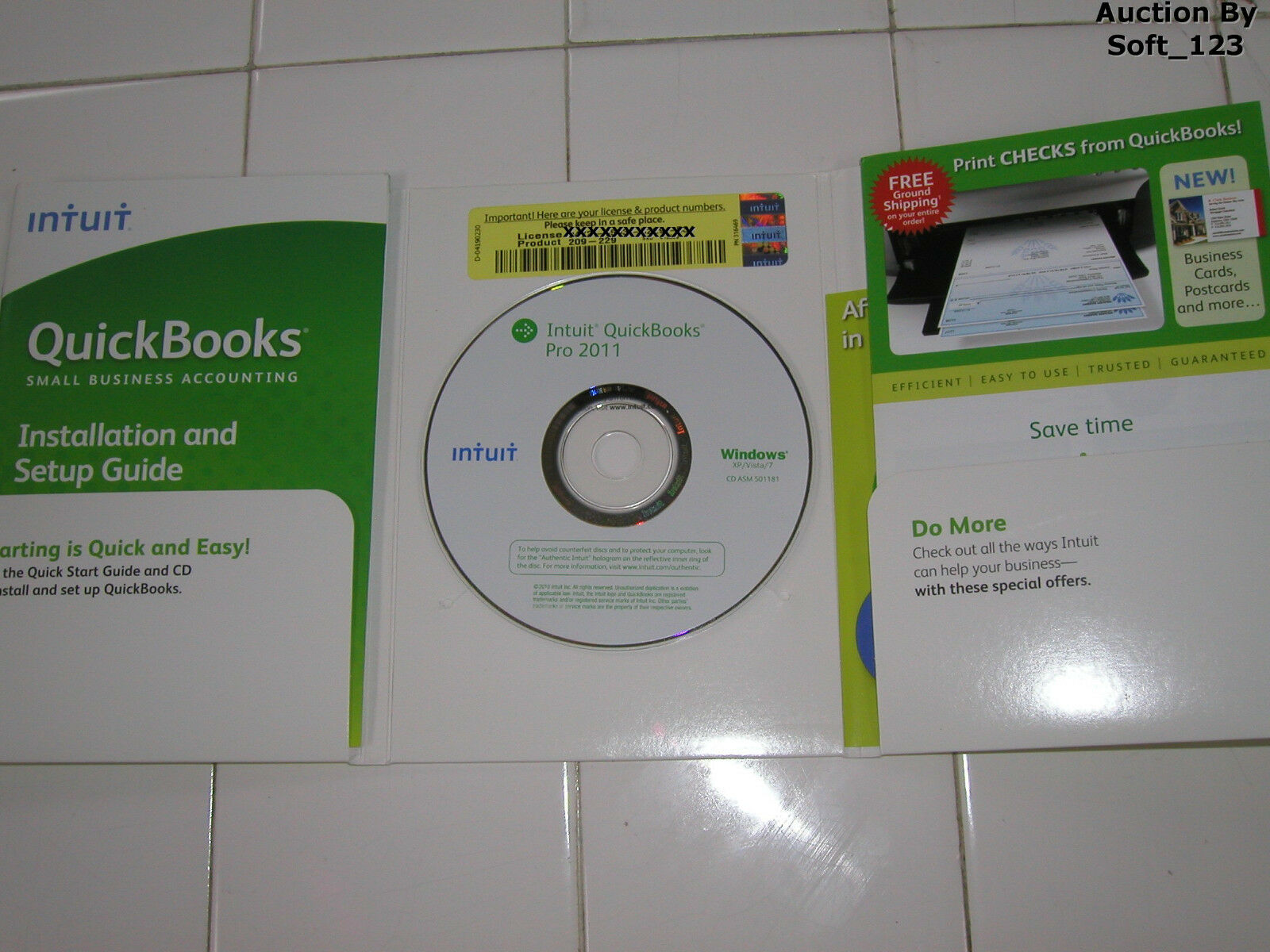 Intuit Quickbooks Pro 2015 For Windows Full Retail US Version *Brand New*