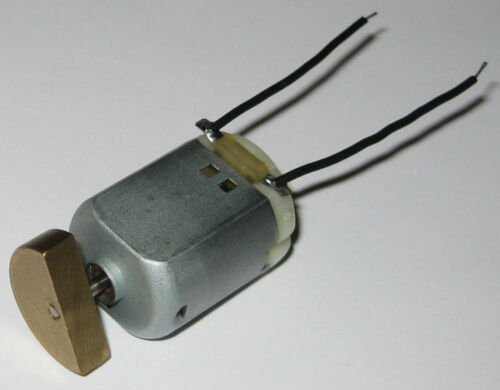 3000 RPM 5 X Compact Vibrator DC Motor 6 VDC Large Offset Weight