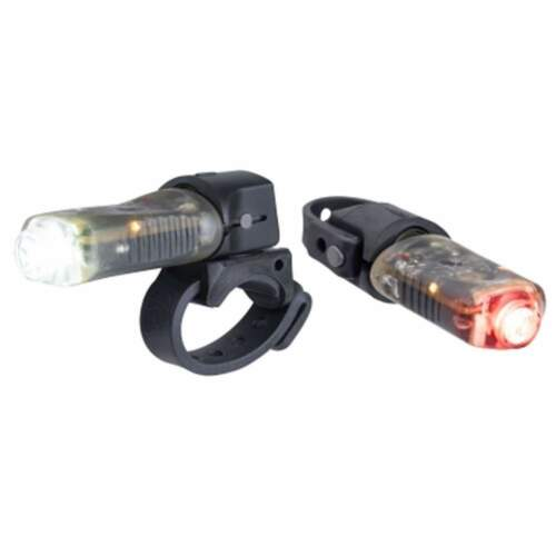 Light /& Motion Vibe Commuter HeadLight//Taillight Combo Bicycle Lights NEW