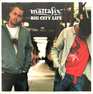 Mattafix-Maxi-CD-Big-City-Life-Europe-EX-EX