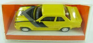 Opel-Ascona-400-gelb-Euromodell-1-87-OVP-ST
